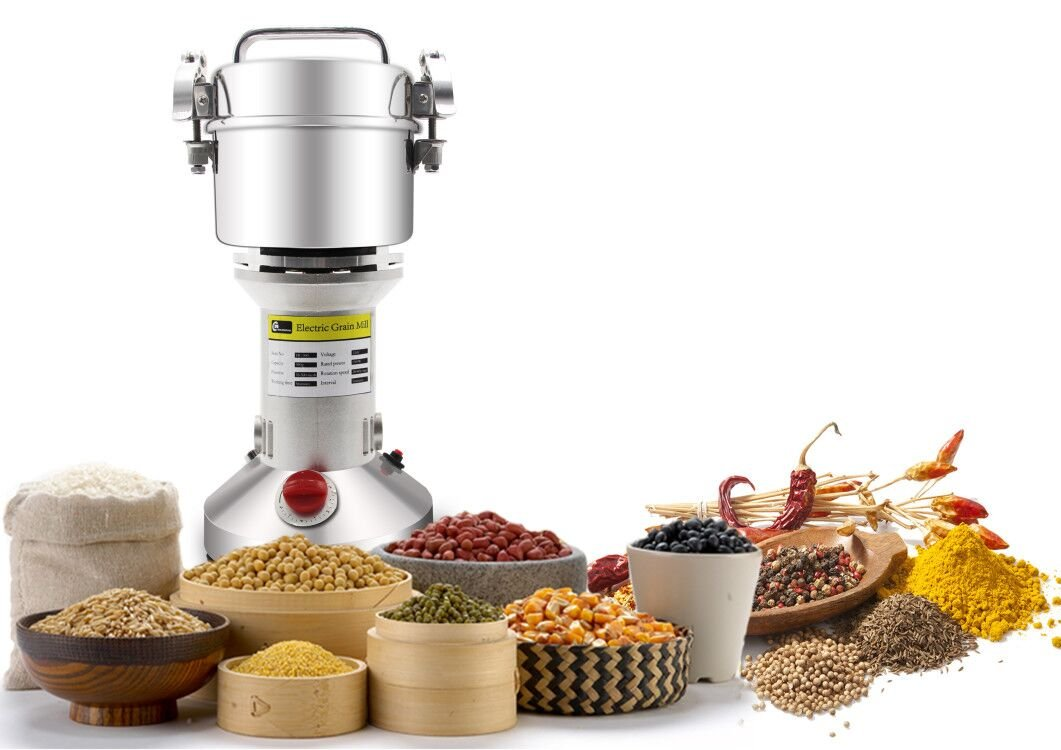 cgoldenwall 300 g Elektrische Müsli Getreide Grinder Pfeffermühle kohlemühle Powder Maschine für Spice Kräuter Kaffee Mühlen Getreide Mini Schleifer