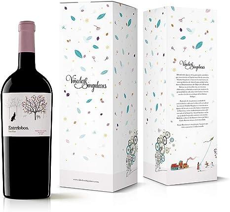 Viñedos Singulares Entrelobos Tinto Fino 2018 Tinto Vino Mágnum Estuchado - 1500 ml: Amazon.es: Alimentación y bebidas
