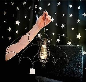 Alchemy Gothic Bat LED Garden Light