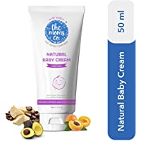The Moms Co. Natural Baby Cream for Face (50 ml) with Organic Oils, Butters and Protein Deep Moisturisation for Baby Soft Skin
