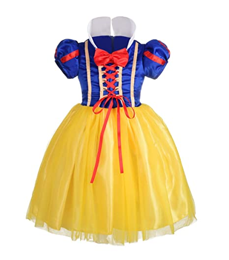 72aac5549b Dressy Daisy Baby-Girls  Princess Snow White Costume Fancy Dresses Up  Halloween Party Size