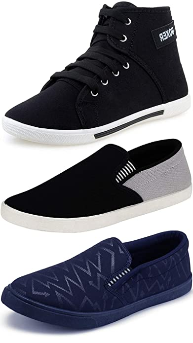 Grey Casual Sneakers Shoes