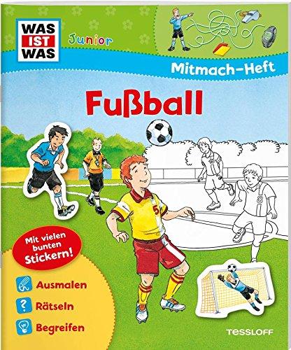Mitmach Heft Fussball Malen Ratseln Stickern Fur Fans Ab 4