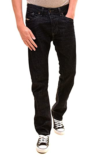 7e2be8ae Diesel Men's Authentic Slim Low Waist Darron Jeans Dark Blue: Amazon ...