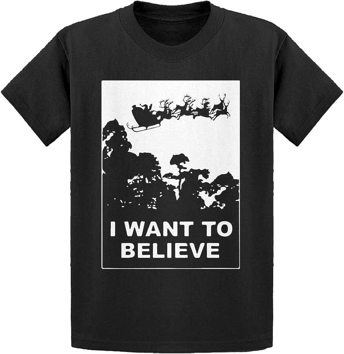 Indica Plateau I Want to Believe Santa Kids T-Shirt