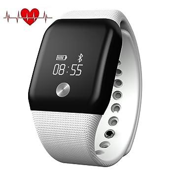 Bluetooth Pulsera Inteligente Impermeable MOREFINE Wristband ...