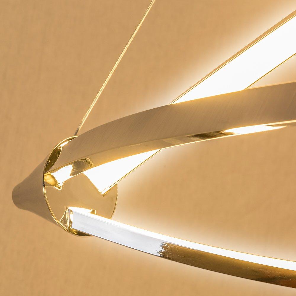 Lu MiR LED Pendelleuchte Hhenverstellbar Kchen Deckenleuchte Wohnzimmer Designleuchte Deckenlampe Schlafzimmer Modern Sunset Lina Amazonde Kche