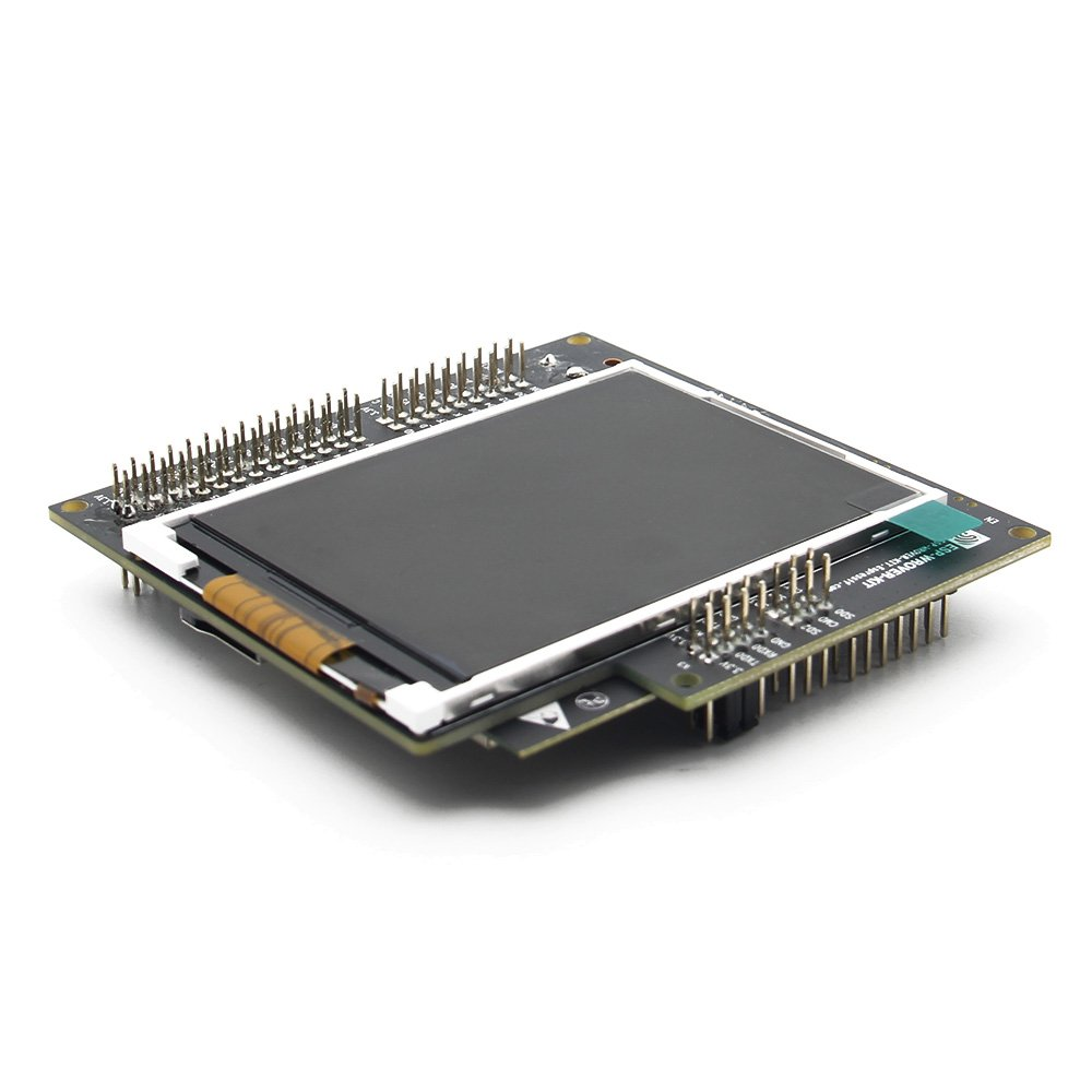 Geekworm ESP-WROVER-KIT ESP32 Chip WiFi + Bluetooth ESP W/ 3.2 inch LCD Screen(Display) Development Board | ESP32 ESP32S ESP 32 Module ESP32 WROVER