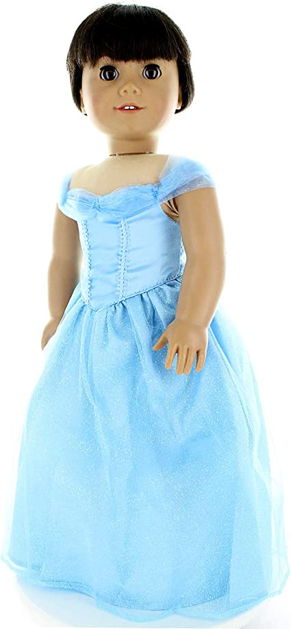 """Doll Clothes Queen Elsa Fits American Girl 18/"""" Pink Butterfly Closet"""