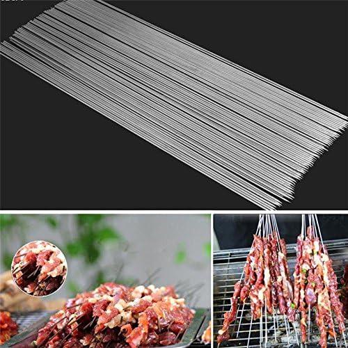 Mackur 30 × Brochettes de Barbecue en Acier Inoxydable