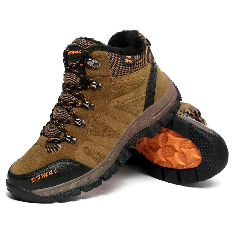 Herren und Damen mit Kaschmir Warm Fuß Stiefel BETY® Camping Angeln Wandern Reisen, 44 EU, Grün