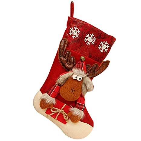 kentop de calcetines de Navidad Navidad calcetín Navidad calcetín bolsa Calcetines de Navidad botas de Navidad