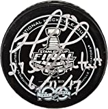 Matt Murray Pittsburgh Penguins Autographed 2017 Stanley Cup Final Game 6 Official Game Puck with 27 SV Shutout 6/11/17 Inscription - Fanatics Authentic Certified