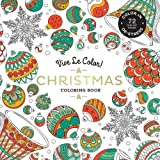 Vive Le Color! Christmas (Adult Coloring Book): Color In; De-stress (72 Tear-out Pages)