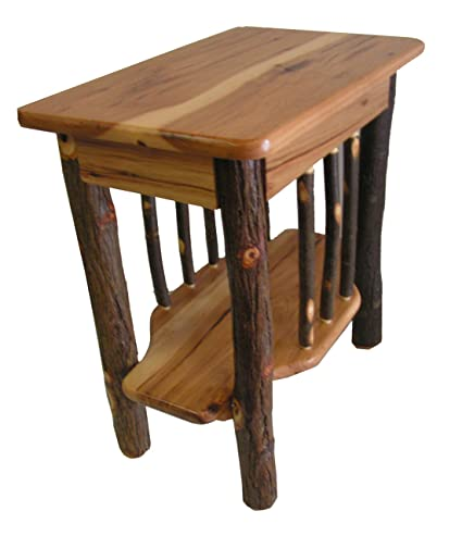Solid Hickory End Table