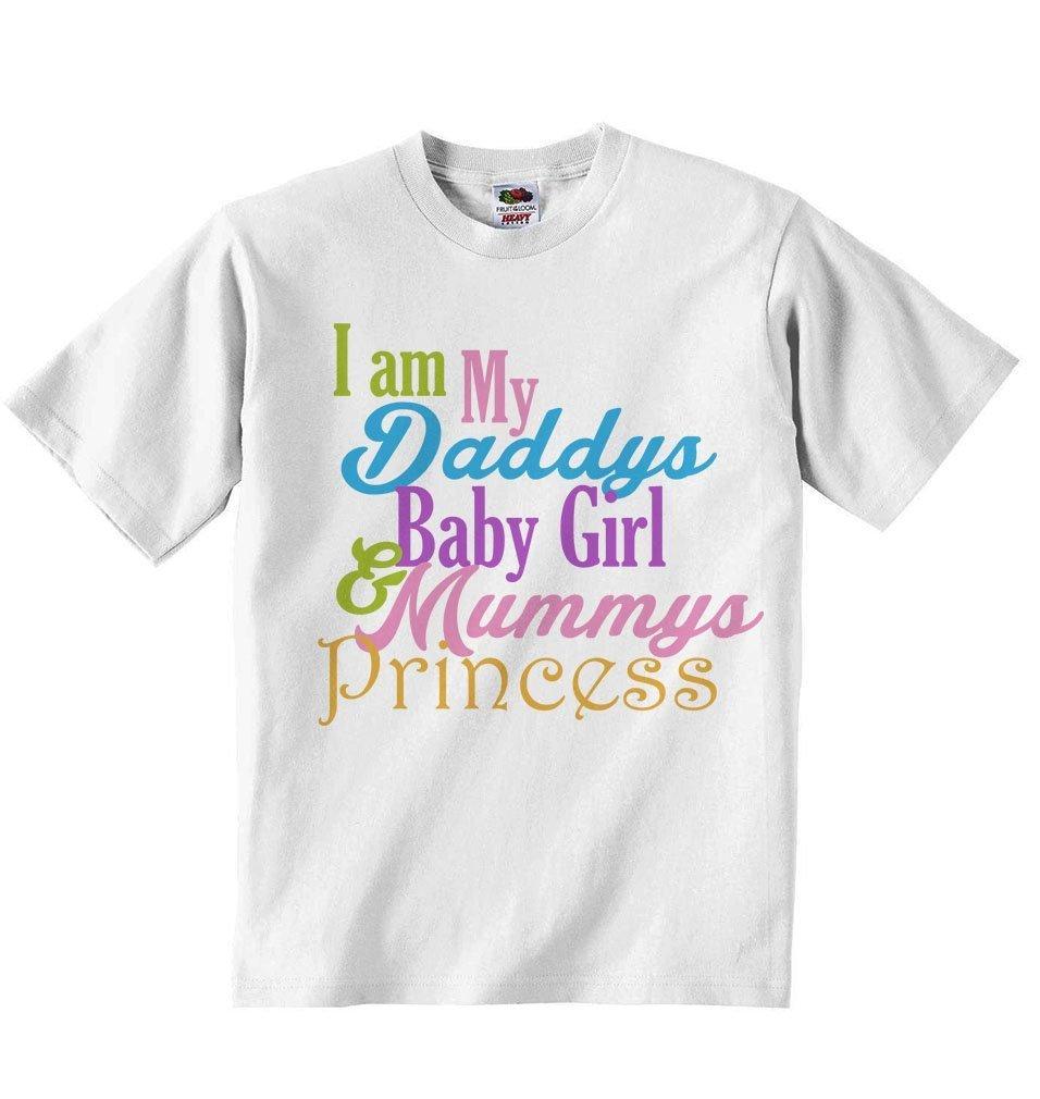Amazon.com: I am My Daddy\'s Baby Girl and Mummy\'s Pricncess ...