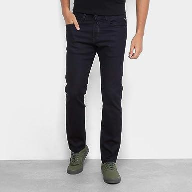 a7ea2ea5b Calça Jeans Reta Replay Anbass Masculina: Amazon.com.br: Amazon Moda