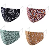 4PCS Dustproof Mask, Outdoor Riding Quick-drying Windbreak Keep Mask Daily Face Cover Washable Facial Cover