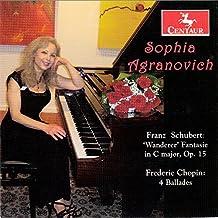 Schubert: Wanderer Fantasie in C Major, Op. 15 - Chopin: 4 Ballades