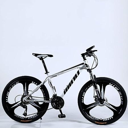 VANYA Bicicleta de montaña para Adultos 21/24/27 Velocidad Ciclo ...