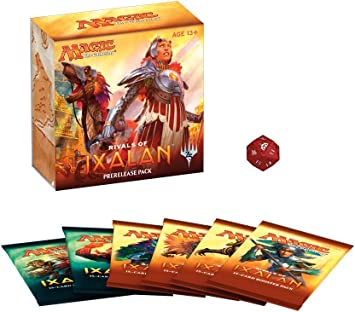 Magic The Gathering MTG Rivals of Ixalan Pre-Release Pack - English: Amazon.es: Juguetes y juegos