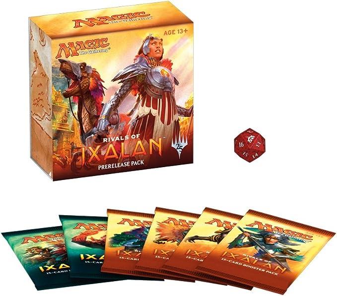 Magic The Gathering MTG Rivals of Ixalan Pre-Release Pack - English: Amazon.es: Juguetes y juegos