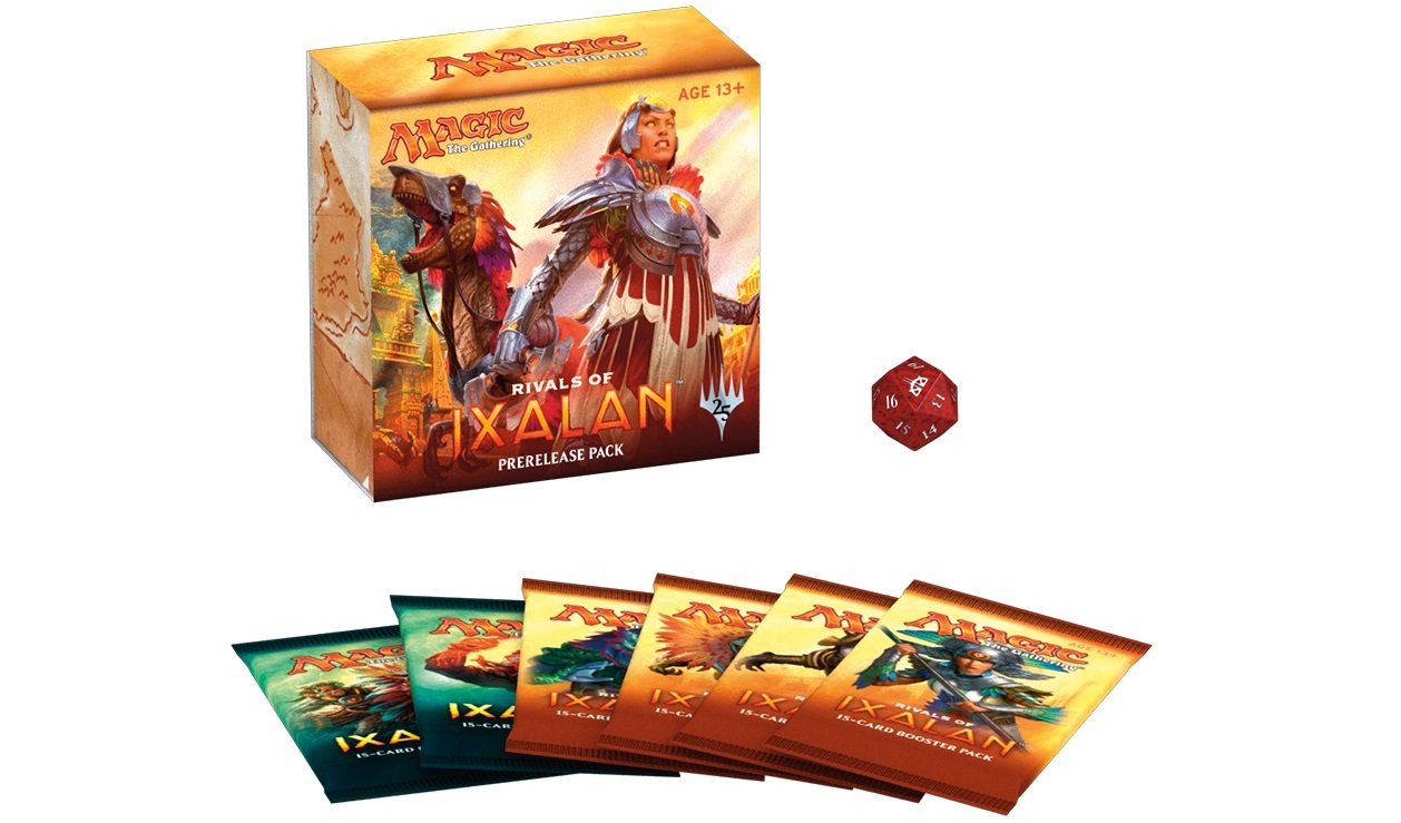 Magic the Gathering (MtG): RIVALS OF IXALAN PRERELEASE PACK Wizards of the Coast