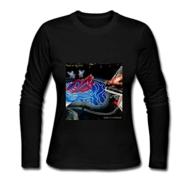 67b88423 Amazon.com: Panic At The Disco Death Of A Bachelor Album 2016 Design Womens  Long Sleeve T-Shirts Black: Clothing
