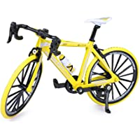 Starnearby Bicicleta Miniatura,Bicicleta Dedos 1: 8 Escala L