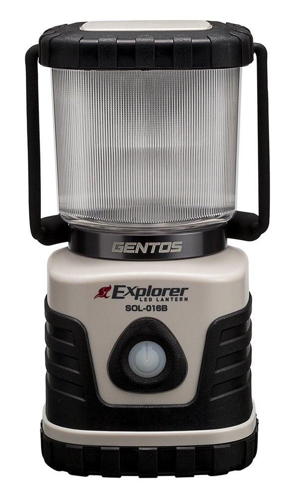 ジェントス LED ランタン 「3色切替/連続点灯14時間/防滴」 エクスプローラー SOLシリーズ
