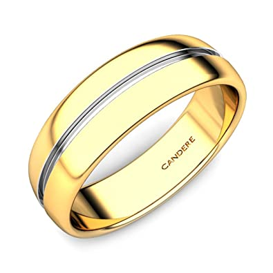 Candere By Kalyan Jewellers 22KT Yellow Gold Ring for Men Amazonin