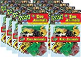 Ja-Ru Planet Earth Zoo Animals Bundle Pack (34 Piece)