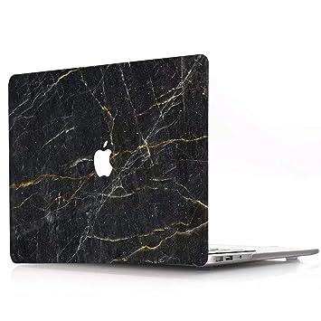 Funda MacBook Pro 13 2019/2018/2017/2016 Plástico Funda Dura Carcasa para MacBook Pro 13 con/sin Touch Bar (A2159/A1989 / A1706 / A1708), R750 Mármol ...