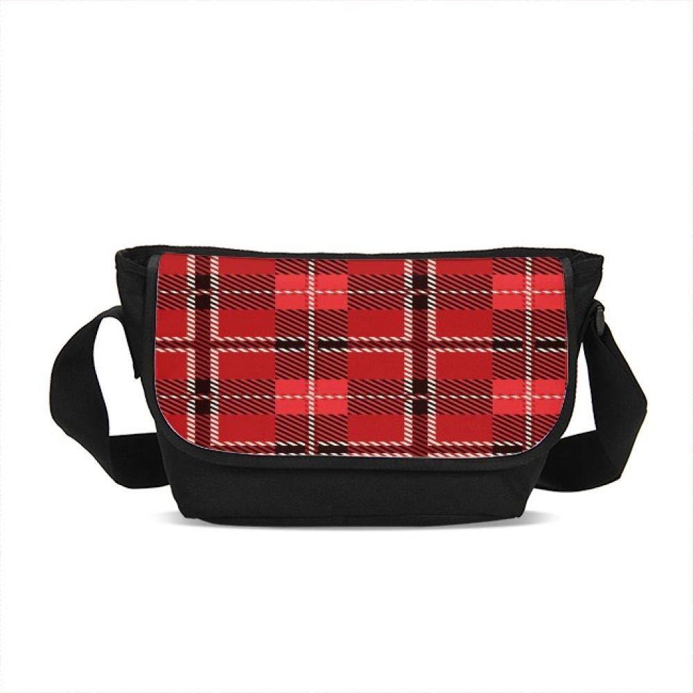 Unisex Classic Messenger Bag Shoulder Commute Bag Crossbody School Bookbag