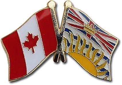 Canada   British Columbia Canadian Province Friendship Lapel Pin