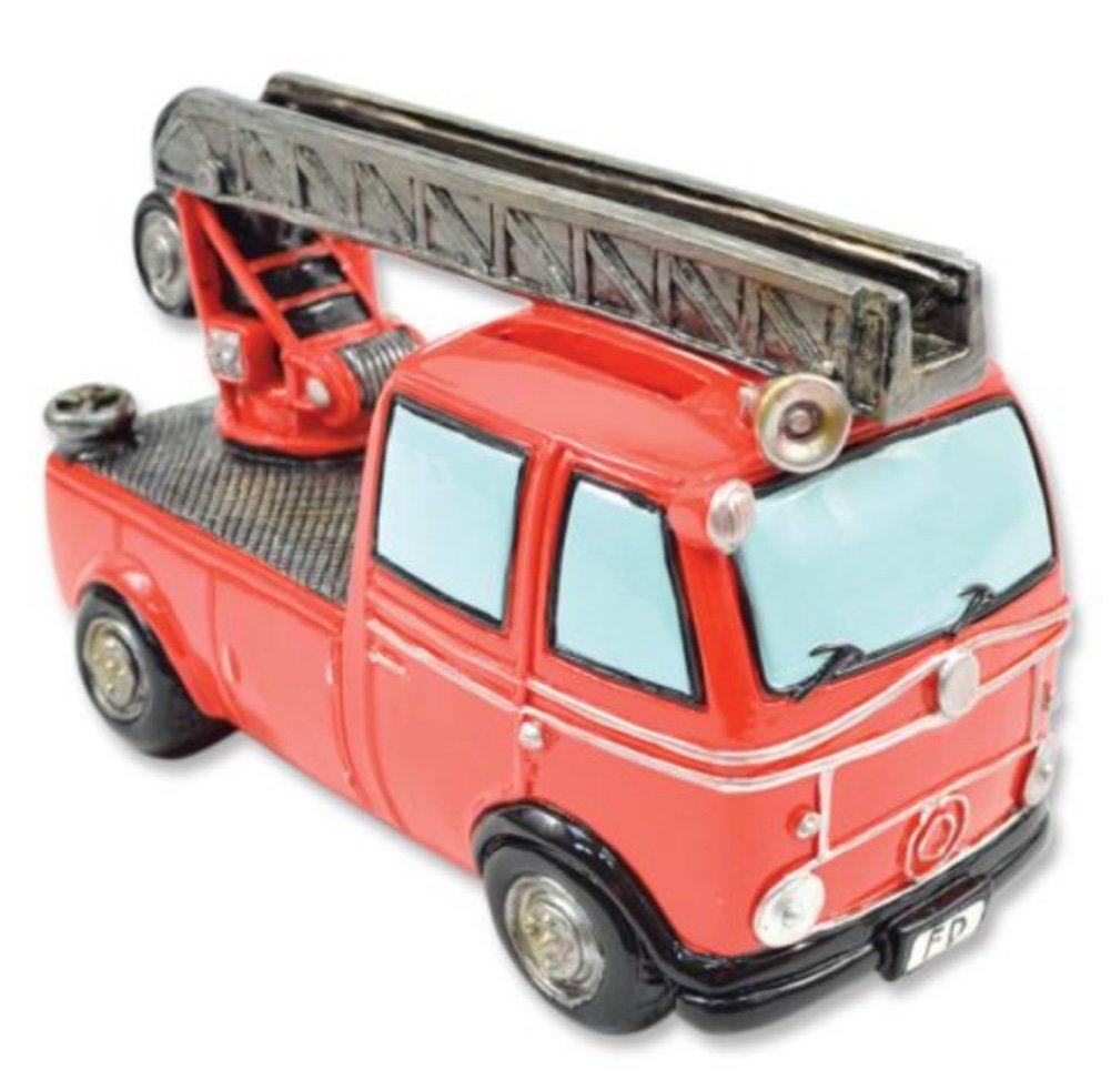 Red Fire Truck Bank