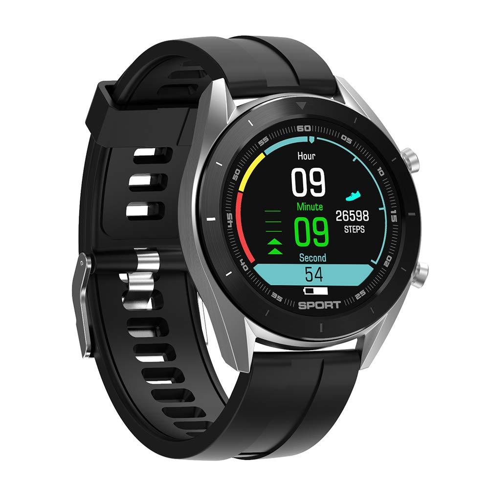 LGLQQ Smartwatch con Pulsómetro,Color De La Pantalla De Reloj ...