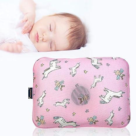 Caravana (aire malla recién nacido bebé almohada para ...