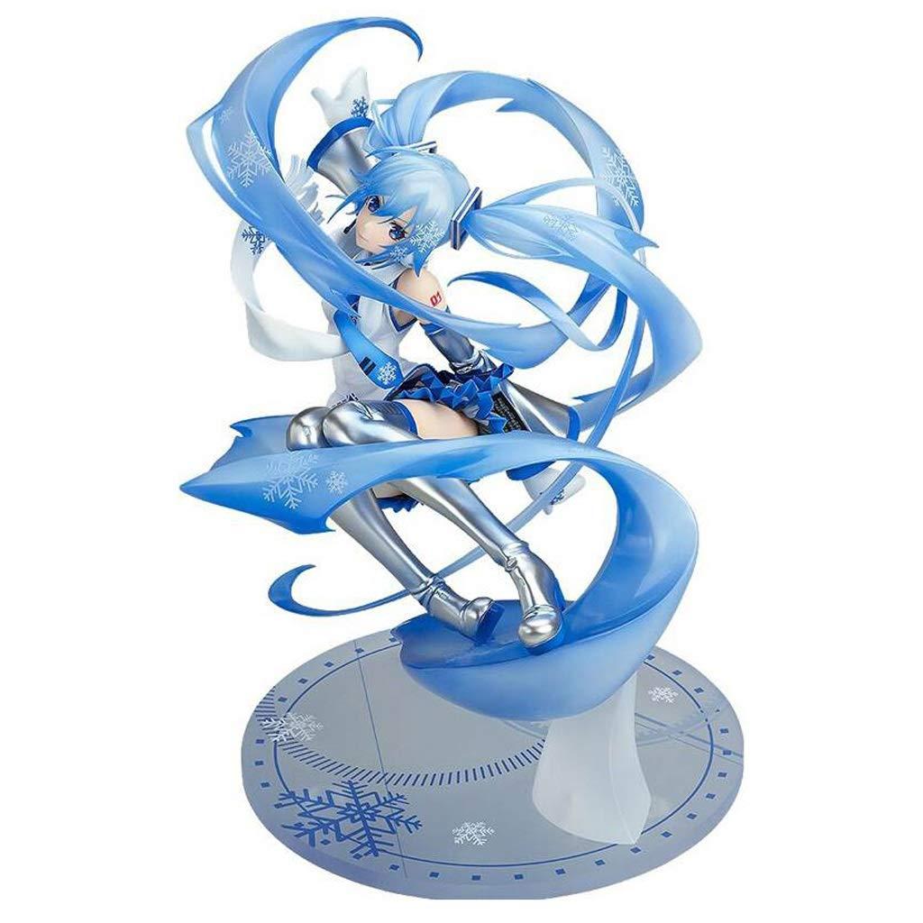 caliente Lilongjao Hatsune Miku Vocaloid  Hatsune Miku Miku Miku Snow Miku Versión PVC Figura Modelo  calidad de primera clase