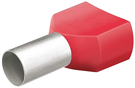 KNIPEX 97 99 372 Twin wire-end ferrules with plastic collar ...