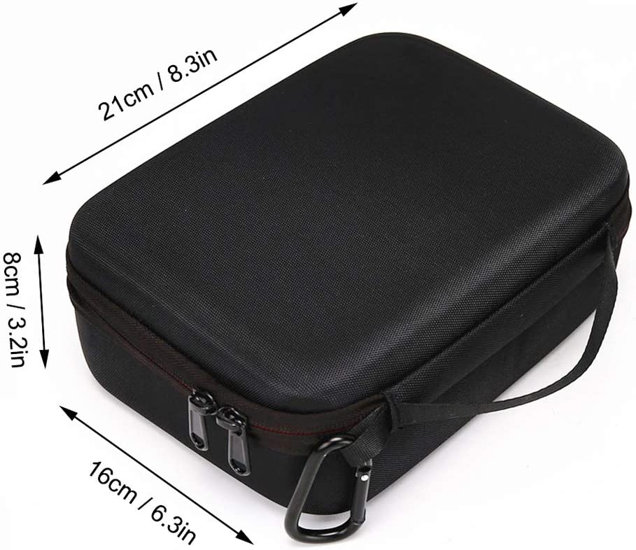 Tineer Carrying Case Hardshell Handbag for OSMO Action,Portable Travel Storage Bag for DJI OSMO Action Camera,Protection Frame,Batteries,Adapter and Accessories