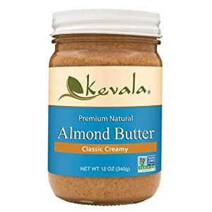 Kevala Almond Butter Creamy, 12 Ounce