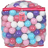 Click N' Play Value Pack of 400 Crush Proof Plastic Play Balls