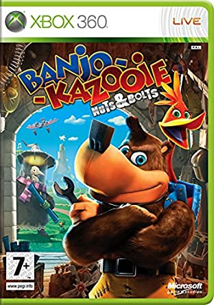 Microsoft Banjo Kazooie Nuts Bolts Xbox 360 Juego Xbox 360