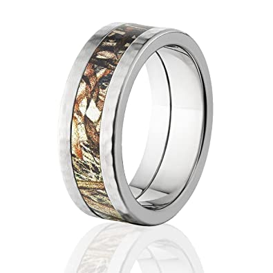 Mossy Oak Bands Mens Camo Wedding Rings Duck Blind Camo Rings
