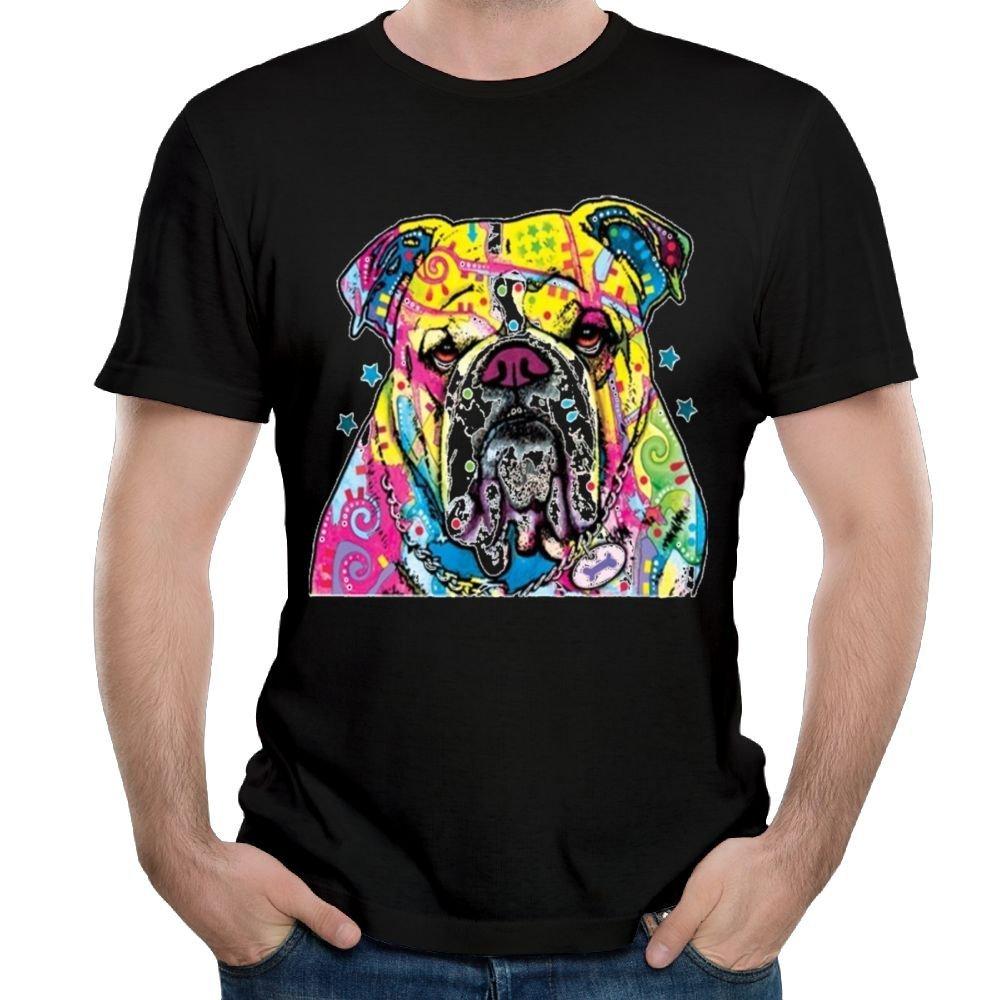Arsmt Colorful Bulldog S Ted Big Funny Tshirts