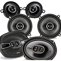 Kicker Dodge Ram Truck 2002-2011 speaker bundle - KS 6x9 3-way coaxial speakers, KS 5.25 speakers, & KS 3.5 speakers