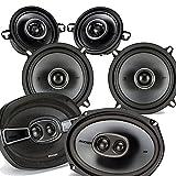Kicker Dodge Ram Truck 2002-2011 speaker bundle - KS 6x9' 3-way coaxial speakers, KS 5.25' speakers, & KS 3.5' speakers
