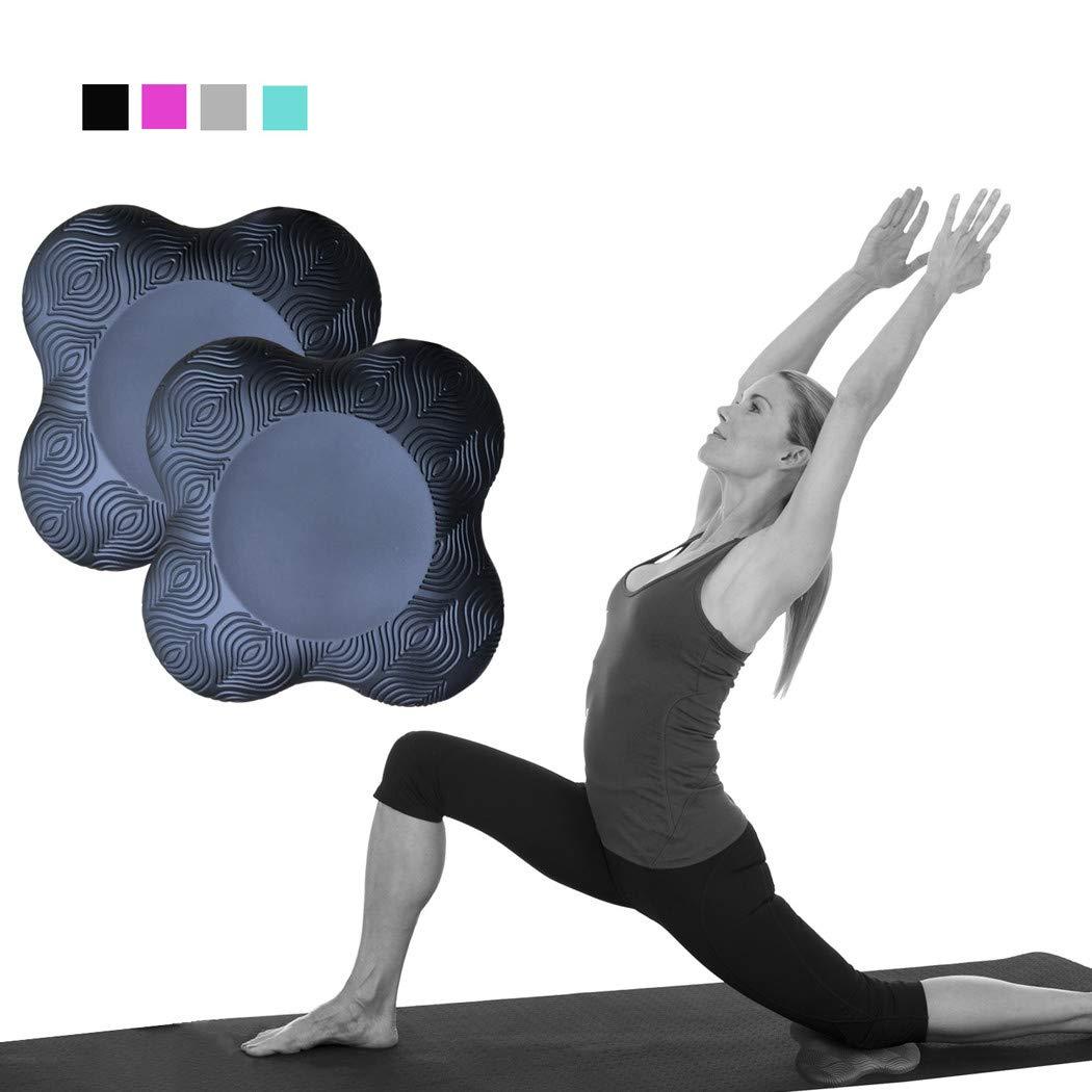 LLAP - Rodilleras de Yoga Extra Gruesas, Paquete de 2 para ...