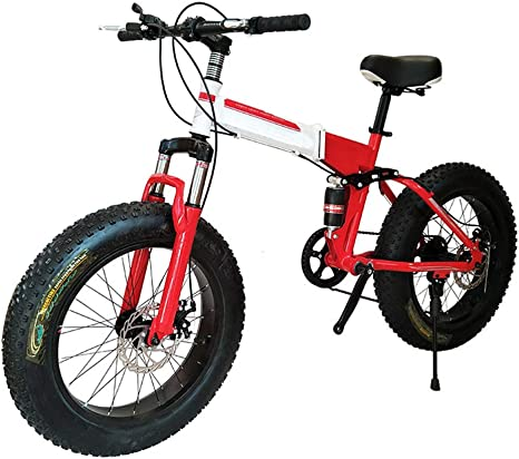XWDQ 20,26 Pulgadas Bicicleta De Montaña Moto De Nieve 4.0 Super ...